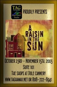 A Raisin in the Sun at TAG